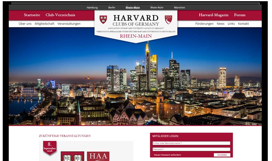 Website Bildungseinrichtung