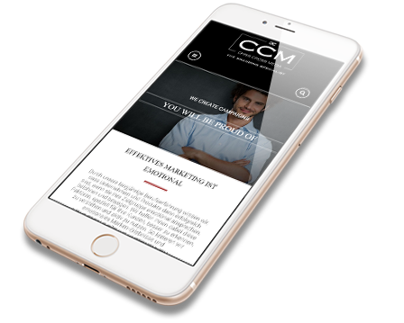 CCM Mobile Webdesign