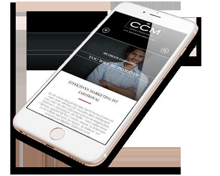 CCM Mobile Webdesign