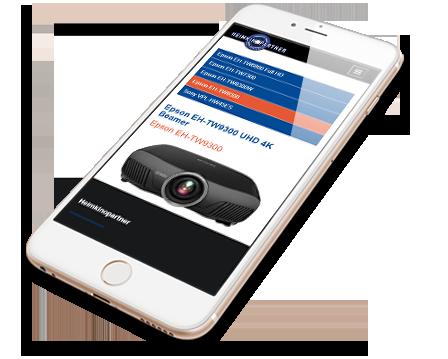 Onlineshop Mobile Webdesign